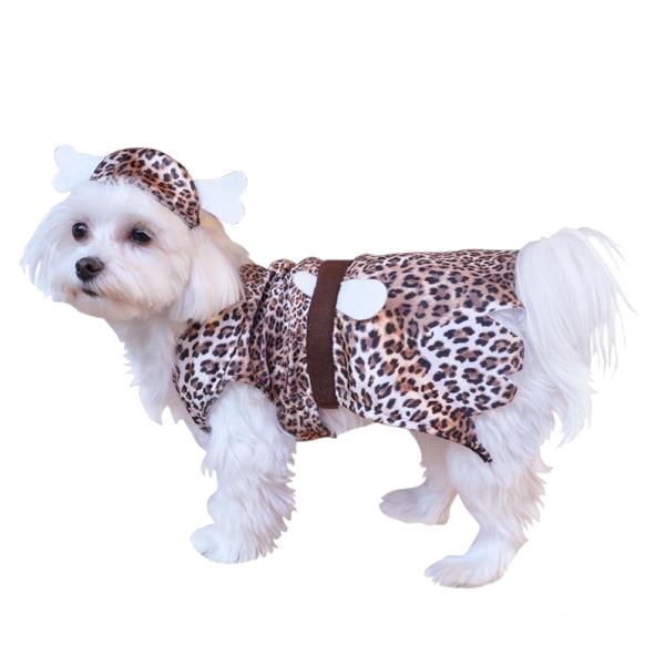 Cavedog Prehistoric Halloween Dog Costume