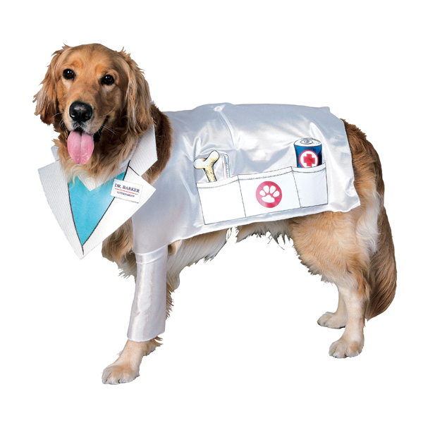 Doctor Barker, Vet Dog Costume