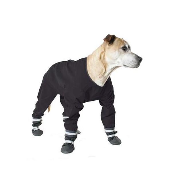 Muttluks Dog Rainsuit - Black