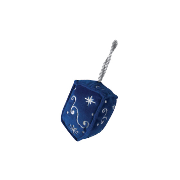 Dreidel Holiday Dog Toy with Chew Guard