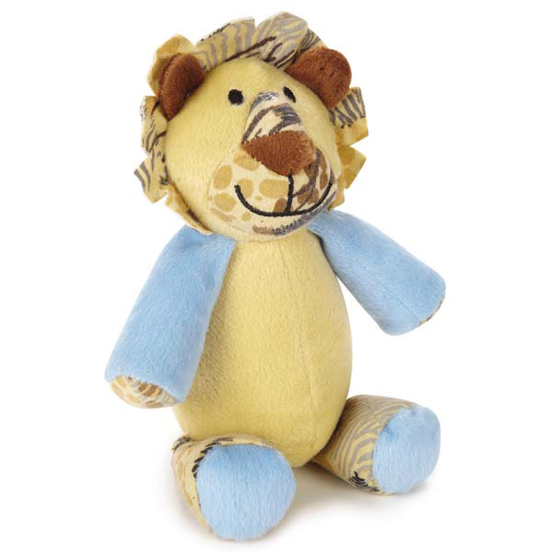 Wild Savannah Animal Dog Toy - Lion