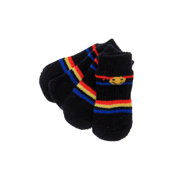 Happy Stripes Soxy Paws Dog Socks