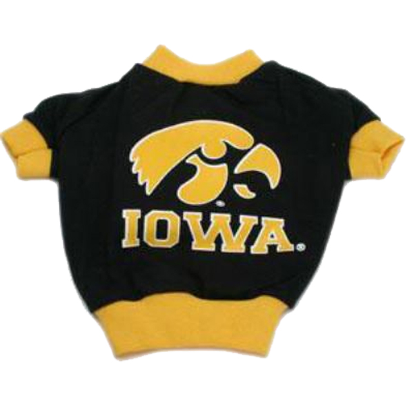 Iowa Hawkeyes Dog T-Shirt