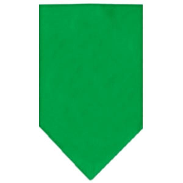 Plain Dog Bandana - Emerald Green