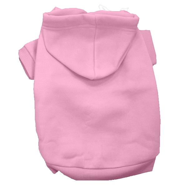 Plain Dog Hoodie - Pink