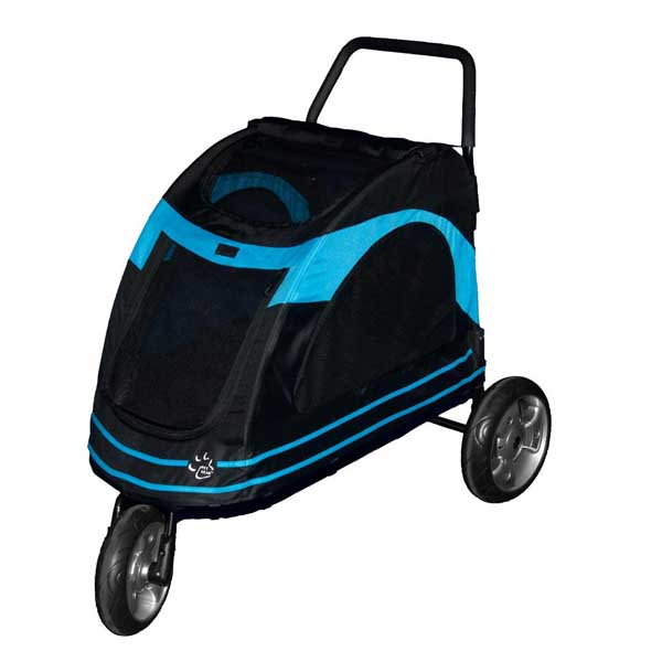 Roadster Pet Stroller - Black/Blue