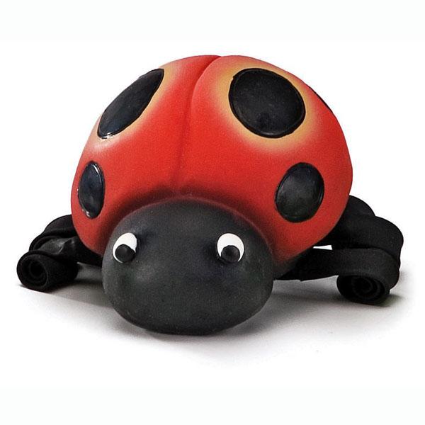 Squeeze Meeze Ladybug Dog Toy