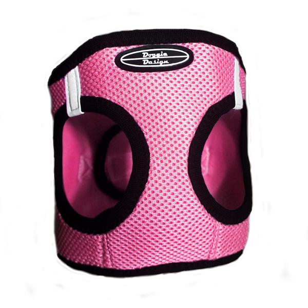 Ultra USA Choke Free Dog Harness by Doggie Design - Bright Pink
