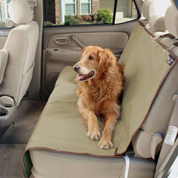 Waterproof Bench Pet Seat Cover - Beige
