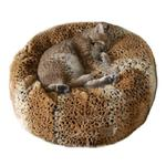 View Image 1 of Ocelot Tiger Dreamz Beddy-Ball Dog Bed