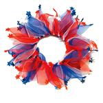 Patriotic Dog Neck Scrunchy