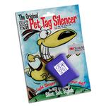 View Image 1 of Quiet Spot Pet Tag Silencer - Blue