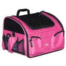 3-in-1 Convertible Pet Carrier/Bike Basket/Car Seat - Pink