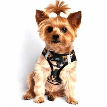 American River Camo Choke Free Dog Harness - Brown
