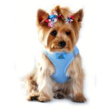 American River Choke Free Mesh Dog Harness - Light Blue