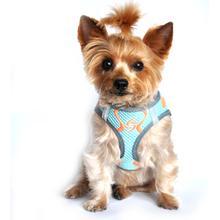 American River Neon Sport Choke-Free Dog Harness - Aruba Blue