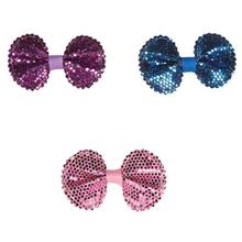 Aria Sequin Dog Bows