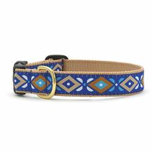 Aztec Blue Dog Collar by Up Country