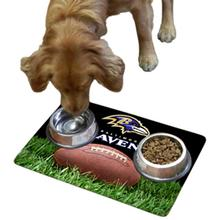 Baltimore Ravens Pet Bowl Mat