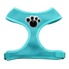 Black Paws Chipper Dog Harness - Aqua
