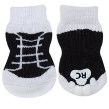 Black Sneakers PAWKS Dog Socks