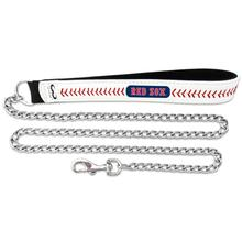 Boston Red Sox Leather Dog Leash