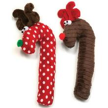 Cane Deer Holiday Dog Toy
