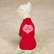 Casual Canine Be Mine Dog T-Shirt - Red