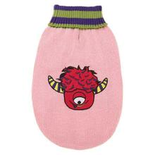 Casual Canine Lil Monster Dog Sweater - Pink