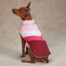 Tonal Dog Vest - Deep Raspberry
