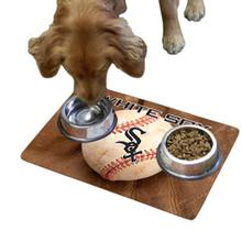 Chicago White Sox Pet Bowl Mat