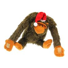Christmas Gorilla Dog Toy - Lou