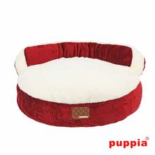 Colosseum Dog Bed by Puppia - Wine