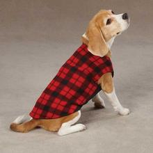 Fashion Fleece Dog Vests - Buffalo Plaid