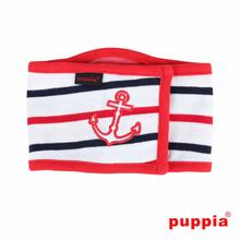 EOS Nautical Dog Manner Band by Puppia - Red