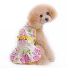 Flower Sun Dog Dress by Dogo