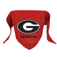 Georgia Bulldogs Mesh Dog Bandana