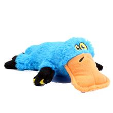 GoDog Plattiez Dog Toy - Blue