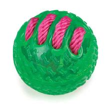 Grriggles FUNdamentals Ball Dog Toy - Parrot Green