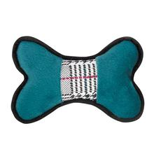Grriggles Heritage Bones Dog Toy - Teal