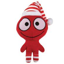 Grriggles Merry Martians Dog Toy - Red