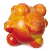 Grriggles Swirleez Ball Dog Toy - Orange