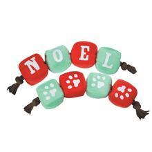 Grriggles Winter Lights Tug Dog Toy - Noel