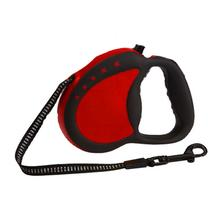 Guardian Gear Reflective Retractable Dog Leash - Red