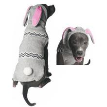 Handmade Bunny Wool Hooded Dog Sweater