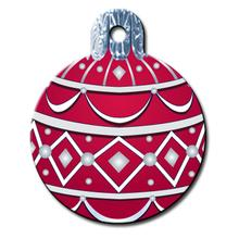 Holiday Ornament Engraveable Pet I.D. Tag