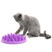 Interactive Cat Feeder - Purple