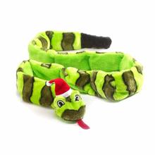 Invincibles Holiday Snake Dog Toy
