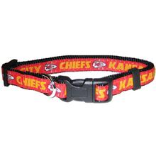 Kansas City Chiefs Officially Licensed Dog Collar