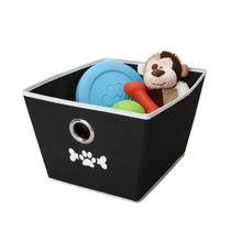 Lazybonezz Dog Toy Bin - Black
